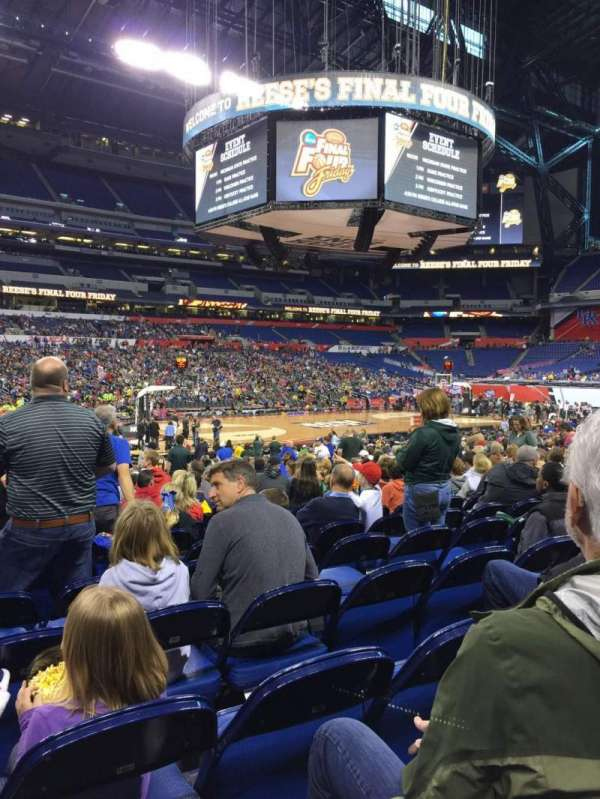Lucas Oil Stadium, section: 116, row: EE, seat: 20