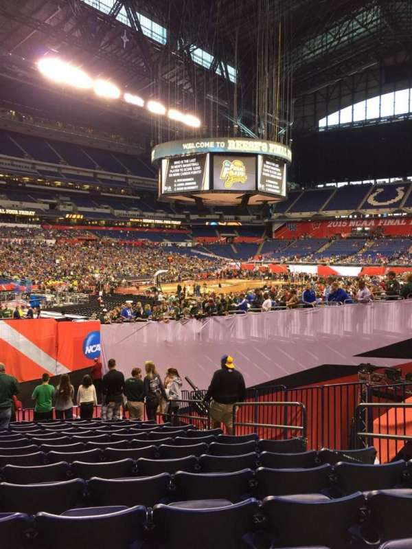 Lucas Oil Stadium, section: 121, row: 20, seat: 7