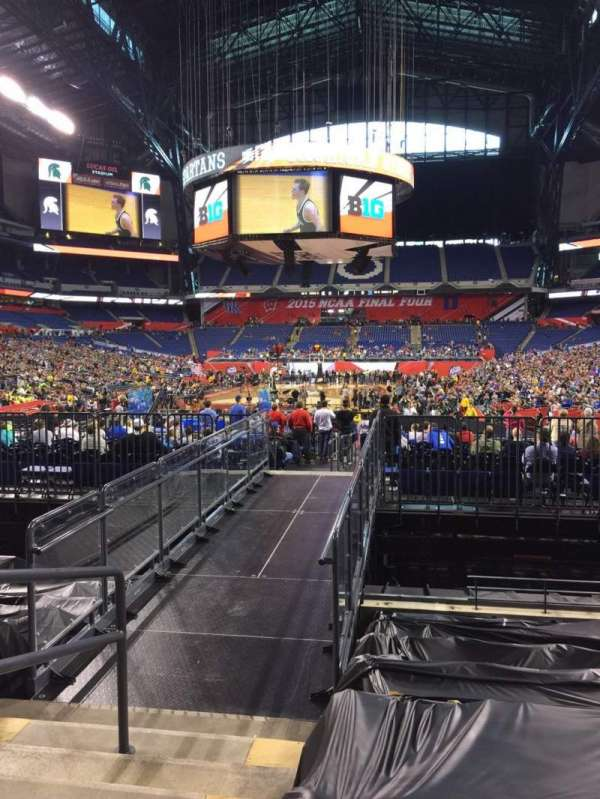 Lucas Oil Stadium, section: 125, row: 16, seat: 23