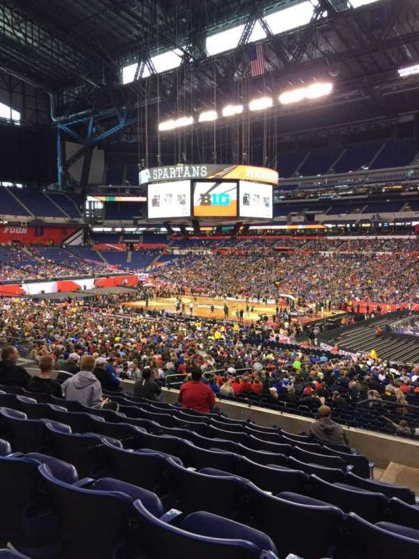Lucas Oil Stadium, section: 236, row: 9, seat: 2