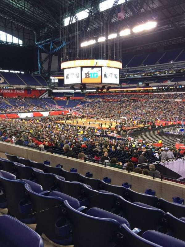 Lucas Oil Stadium, section: 235, row: 5, seat: 13