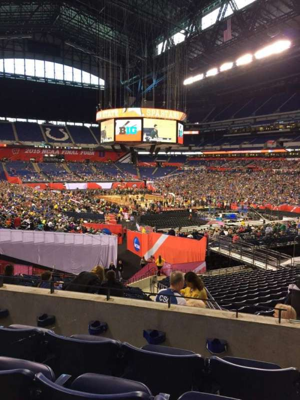 Lucas Oil Stadium, section: 231, row: 4, seat: 4