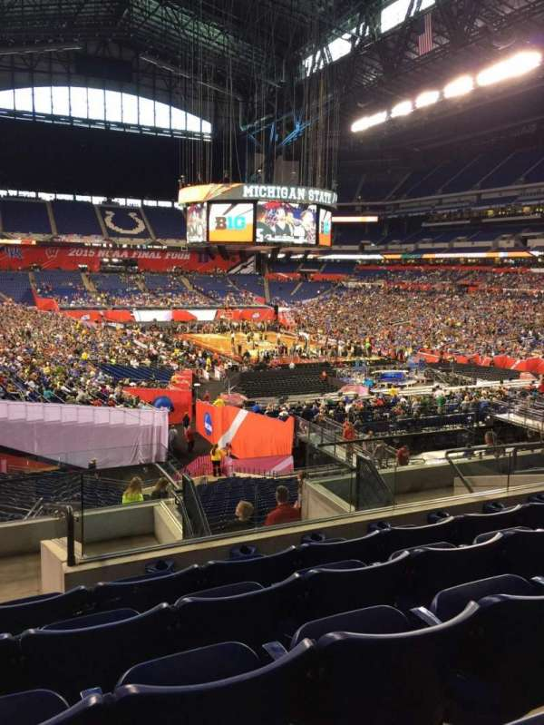 Lucas Oil Stadium, section: 230, row: 9, seat: 11