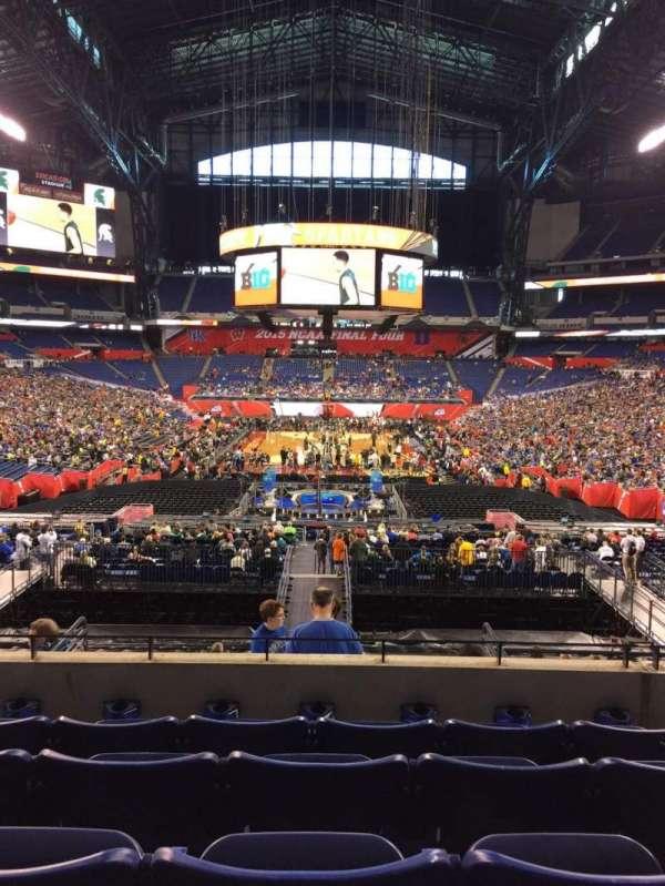 Lucas Oil Stadium, section: 227, row: 5, seat: 12