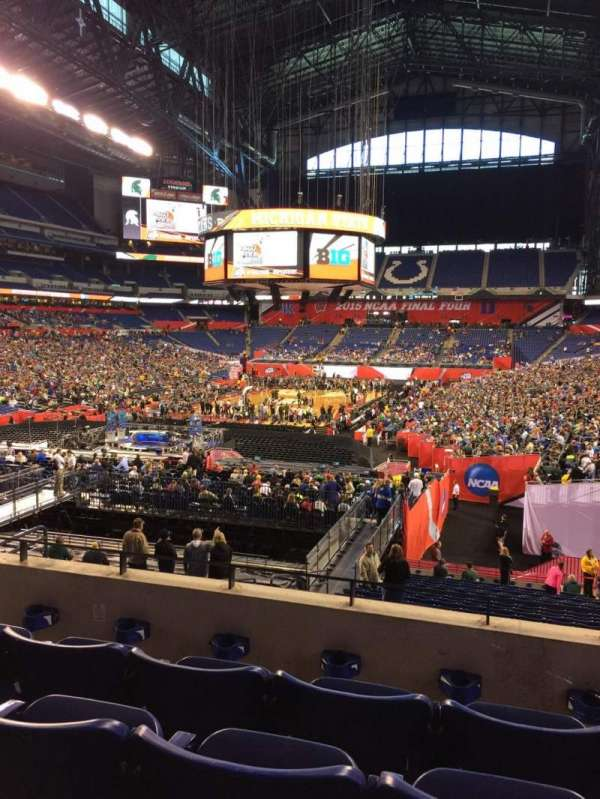 Lucas Oil Stadium, section: 224, row: 4, seat: 9