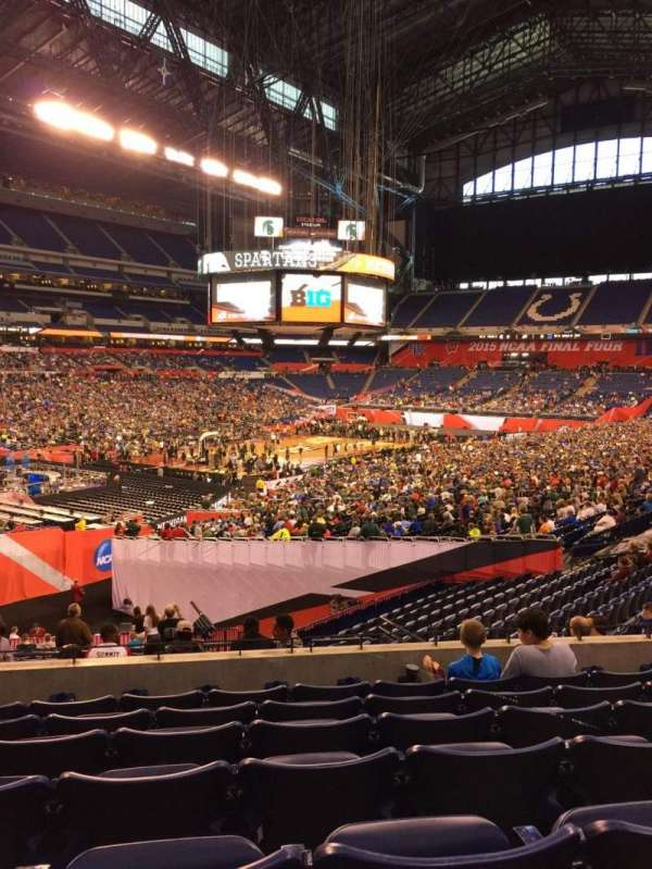 Lucas Oil Stadium, section: 220, row: 7, seat: 13