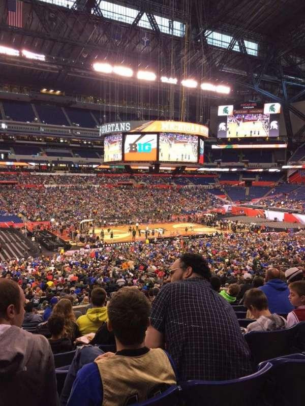 Lucas Oil Stadium, section: 216, row: 12, seat: 20