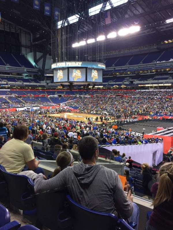 Lucas Oil Stadium, section: 208, row: 7, seat: 5