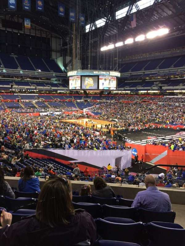 Lucas Oil Stadium, section: 206, row: 6, seat: 2