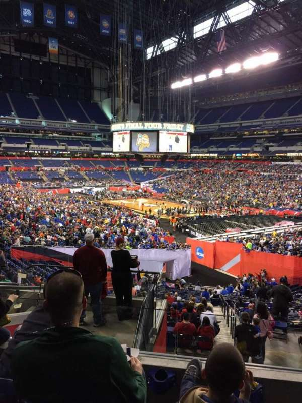 Lucas Oil Stadium, section: 205, row: 8, seat: 8
