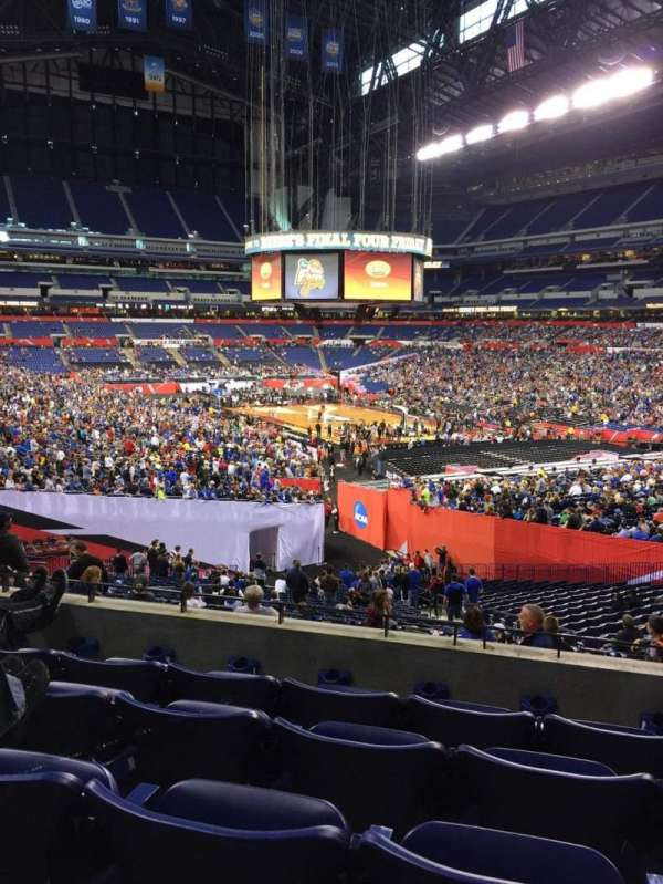 Lucas Oil Stadium, section: 204, row: 5, seat: 10