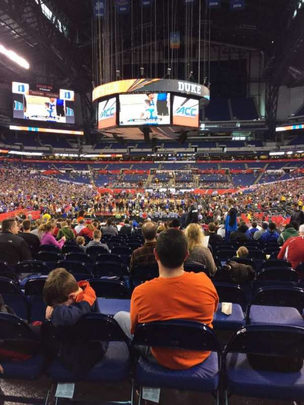 Lucas Oil Stadium, section: 153, row: T, seat: 7