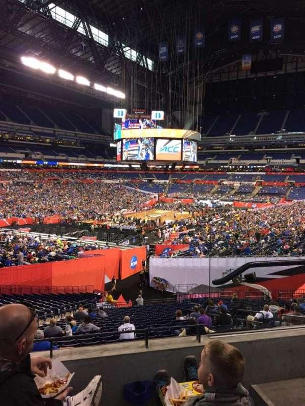 Lucas Oil Stadium, section: 249, row: 3, seat: 3
