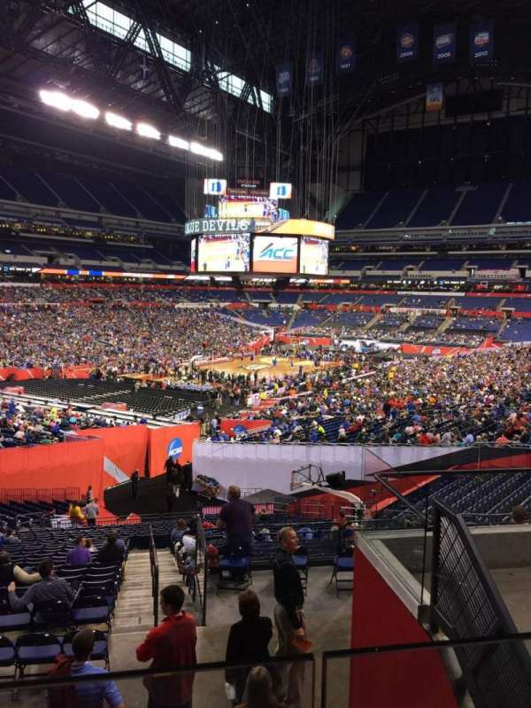 Lucas Oil Stadium, section: 248, row: 6, seat: 7