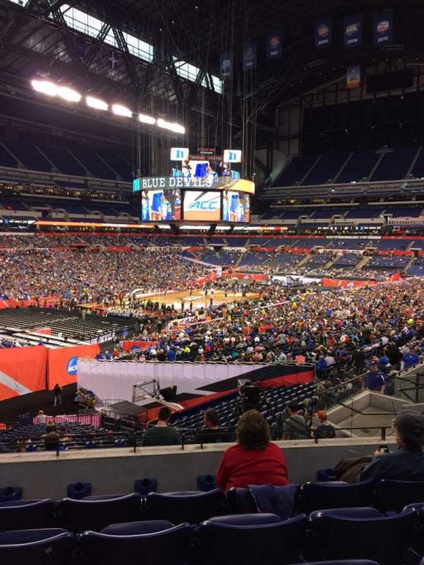 Lucas Oil Stadium, section: 247, row: 4, seat: 13