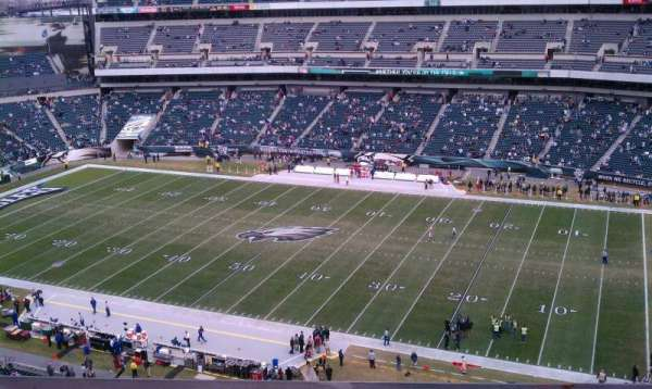 Lincoln Financial Field, section: 205, row: 5, seat: 16