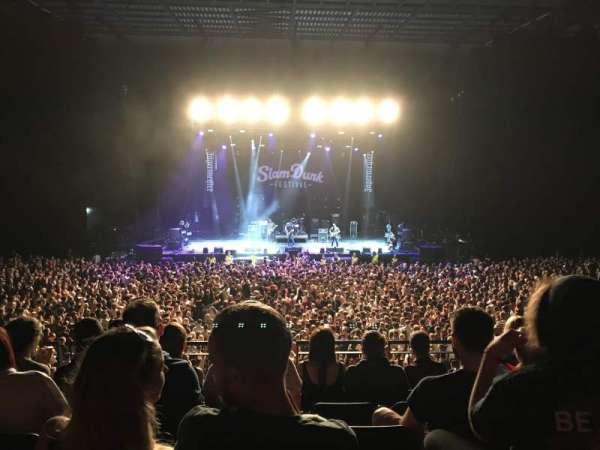 First Direct Arena, section: 105, row: 4