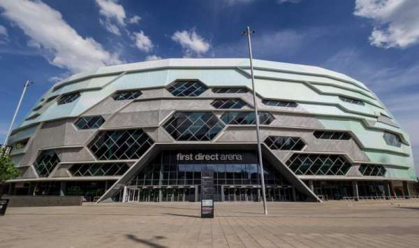 First Direct Arena, section: Exterior