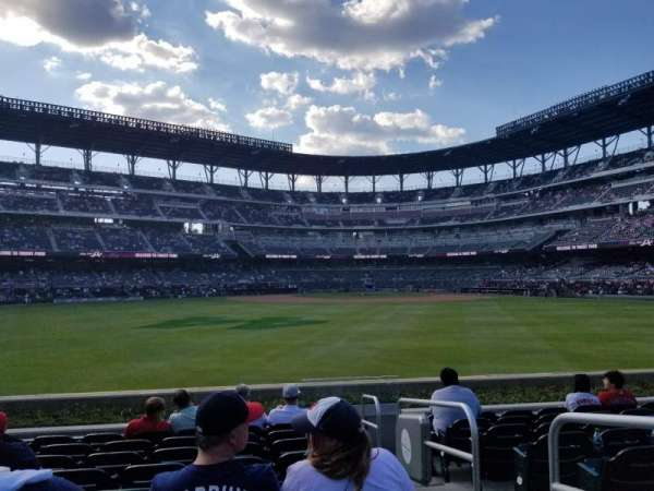 Truist Park, section: 151, row: 9, seat: 2