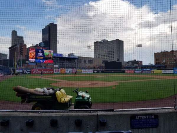 Fifth Third Field, section: 111, row: E, seat: 2