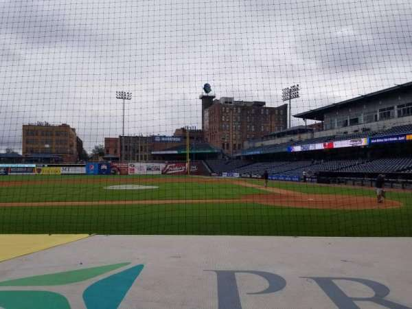 Fifth Third Field, section: 107, row: F, seat: 8