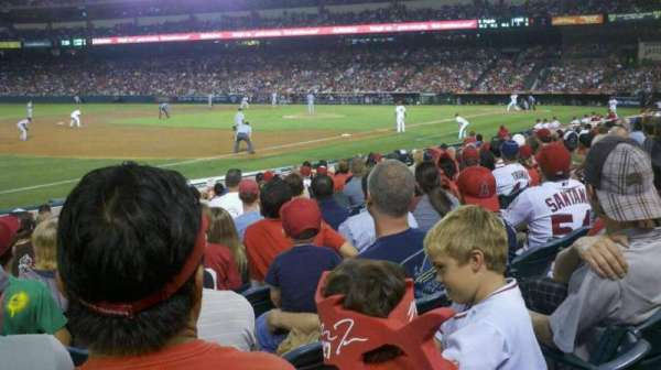 Angel Stadium, section: F108, row: n, seat: 10