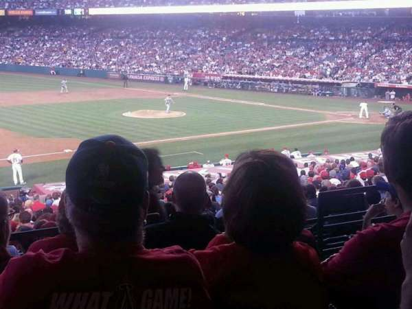 Angel Stadium, section: T209, row: E, seat: 20/21