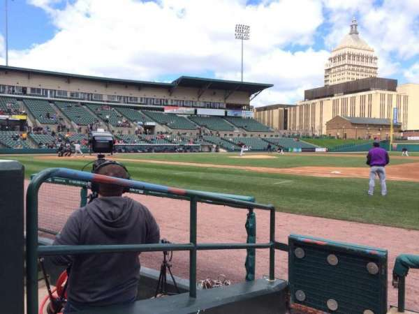 Frontier Field, section: 104, row: D, seat: 1