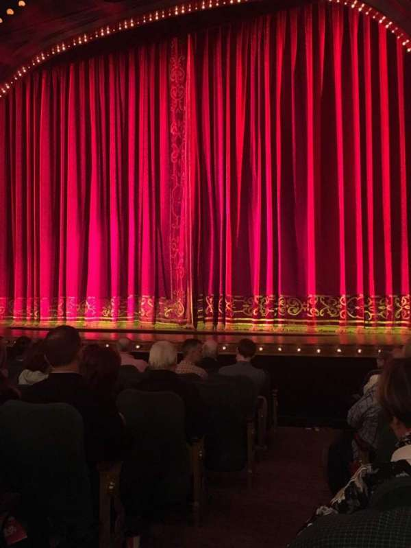 Shubert Theatre, section: Orchestra R, row: J, seat: 2