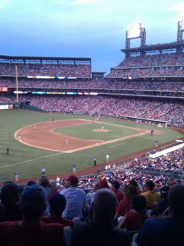 Citizens Bank Park, section: 233, row: 7, seat: 9