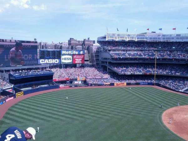 Yankee Stadium, section: 329, row: 7, seat: 12