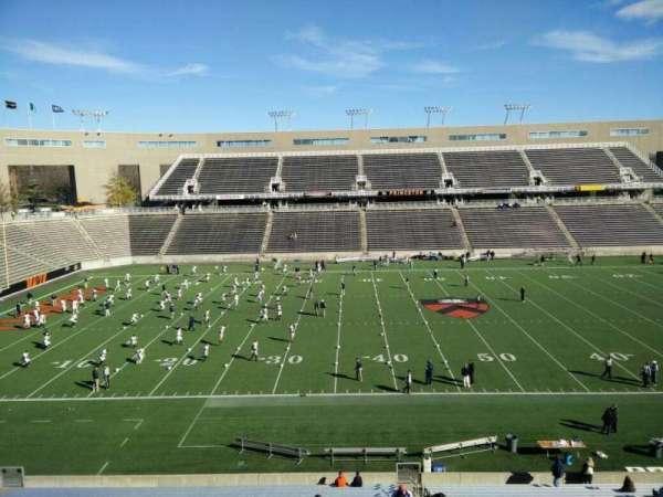 Princeton Stadium, section: 8, row: 28, seat: 5