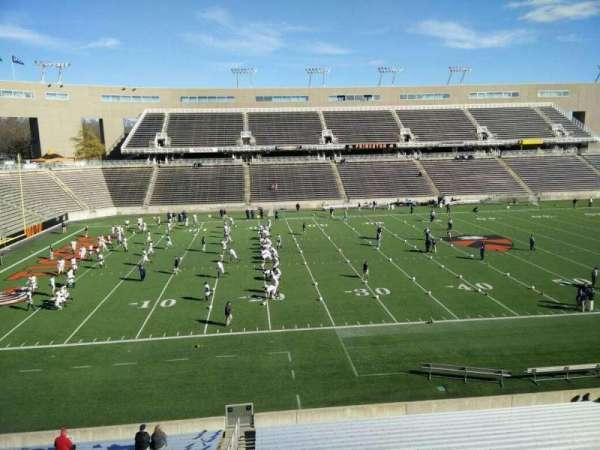 Princeton Stadium, section: 9, row: 22, seat: 20