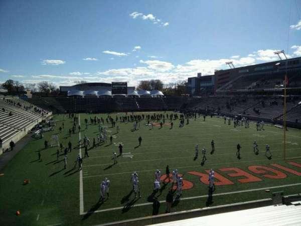 Princeton Stadium, section: 19, seat: 11