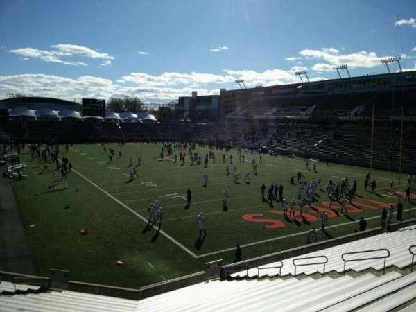 Princeton Stadium, section: 20, seat: 15
