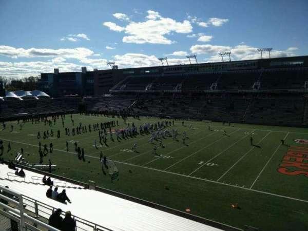 Princeton Stadium, section: 21, row: 24, seat: 12