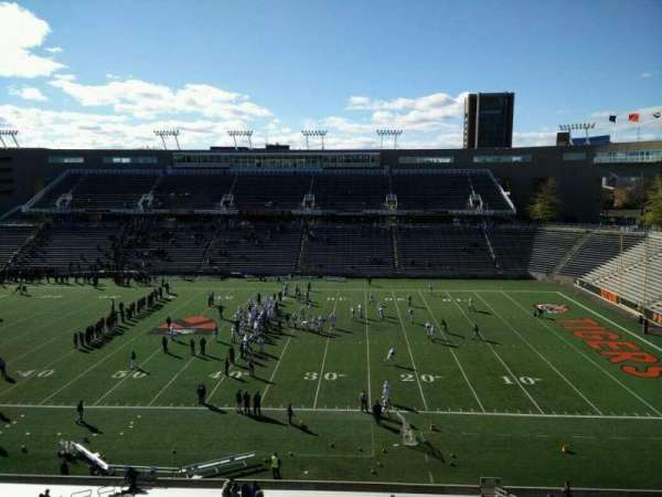 Princeton Stadium, section: 24, row: 33, seat: 15