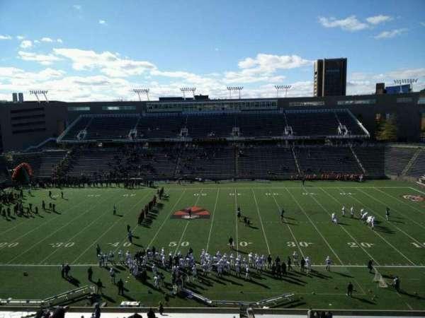 Princeton Stadium, section: 26, row: 36, seat: 1