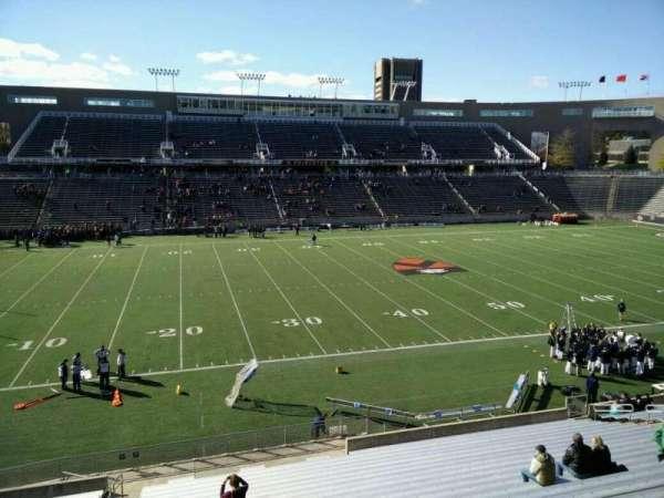 Princeton Stadium, section: 29, row: 22, seat: 17
