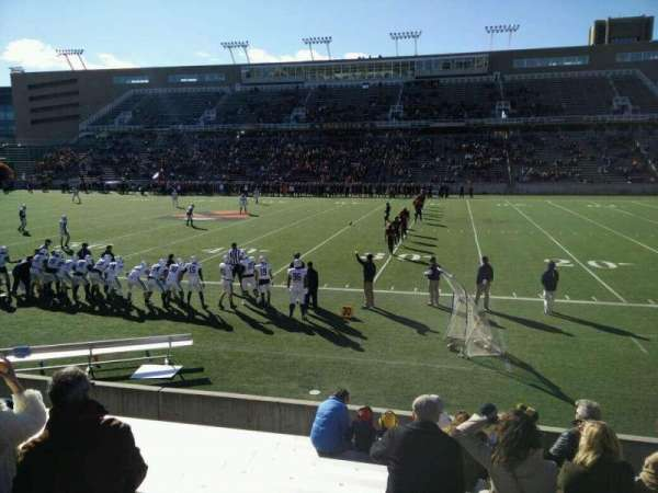 Princeton Stadium, section: 24, row: 9, seat: 15