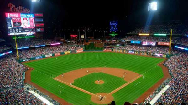 Citizens Bank Park, section: 421, row: 7, seat: 9