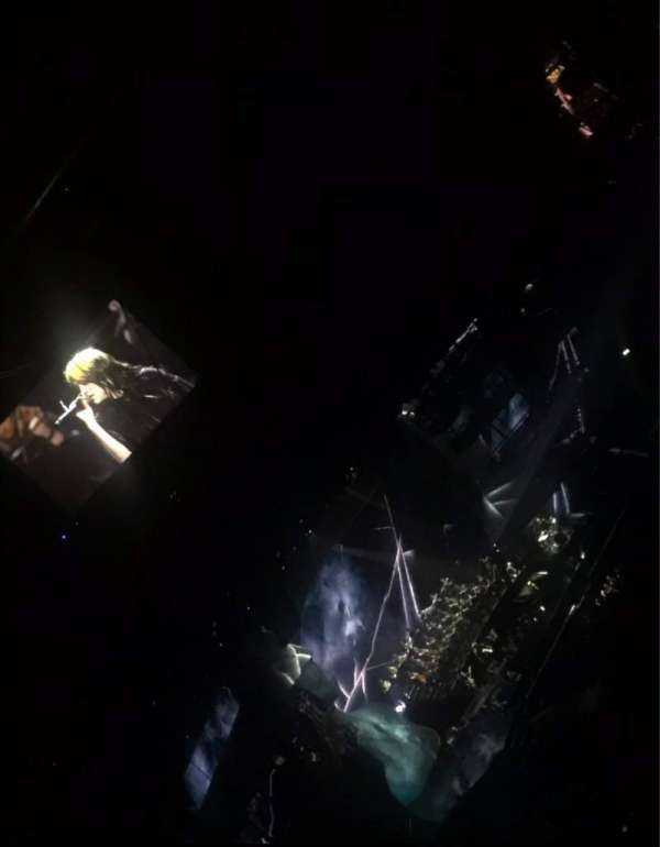 The O2 Arena, section: 406, row: M, seat: 583
