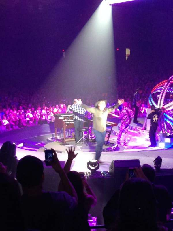 Allstate Arena, section: 108, row: K, seat: 4