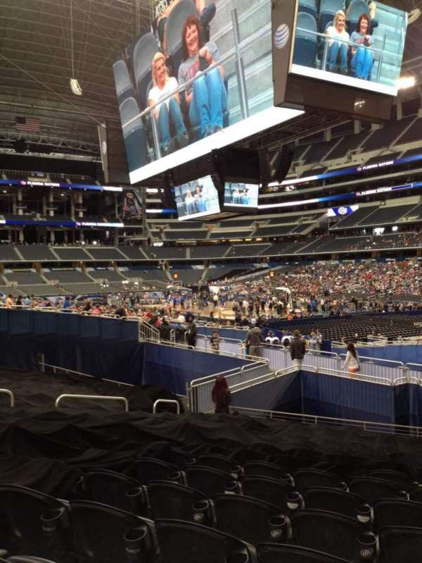 AT&T Stadium, section: 102, row: 14, seat: 8
