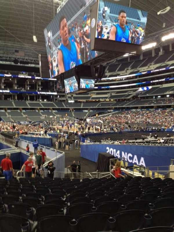 AT&T Stadium, section: 101, row: 16, seat: 9