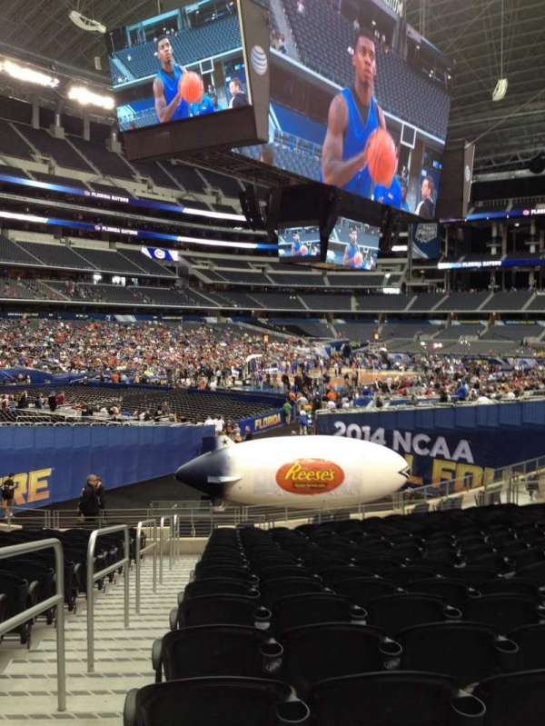 AT&T Stadium, section: 144, row: 20, seat: 33