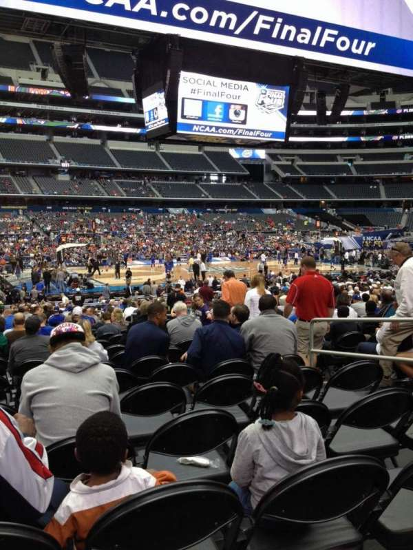 AT&T Stadium, section: C138, row: MM, seat: 6