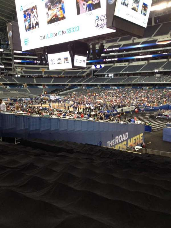 AT&T Stadium, section: 128, row: 21, seat: 1