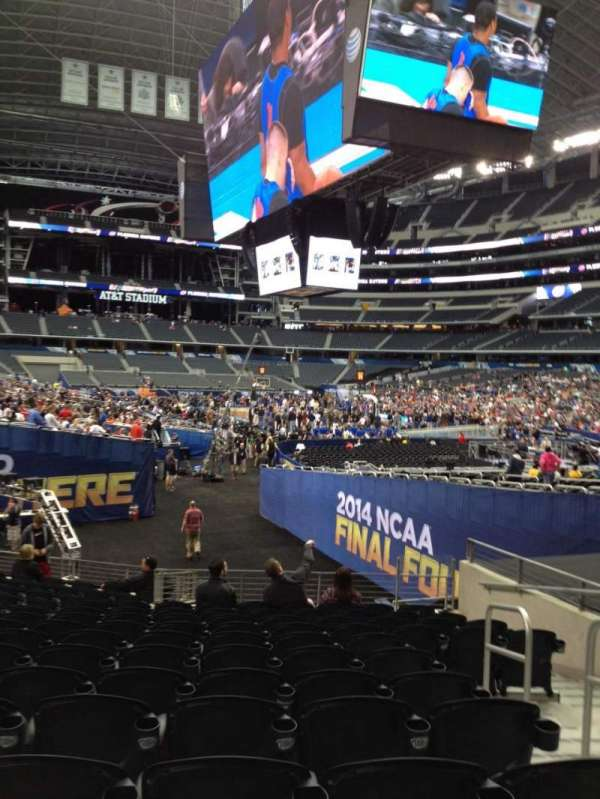AT&T Stadium, section: 126, row: 15, seat: 3