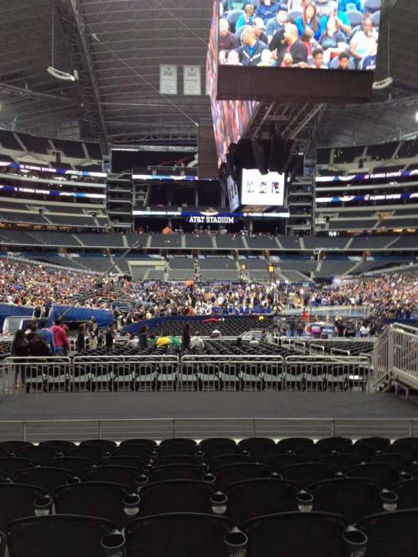 AT&T Stadium, section: 124, row: 16, seat: 10